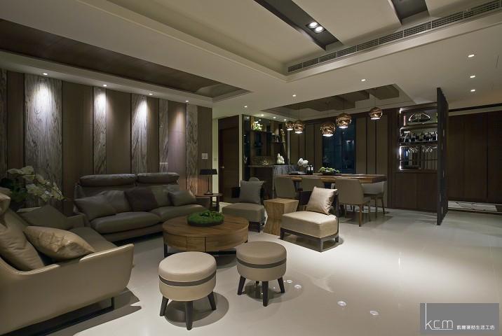 自然美景,竟在居家生活之中 法采1702案例 天花板設計