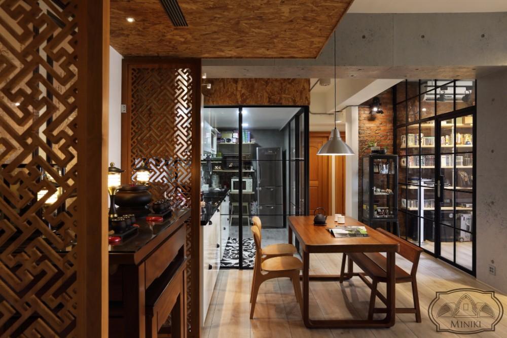 米立奇現代輕工業風住家 神明廳