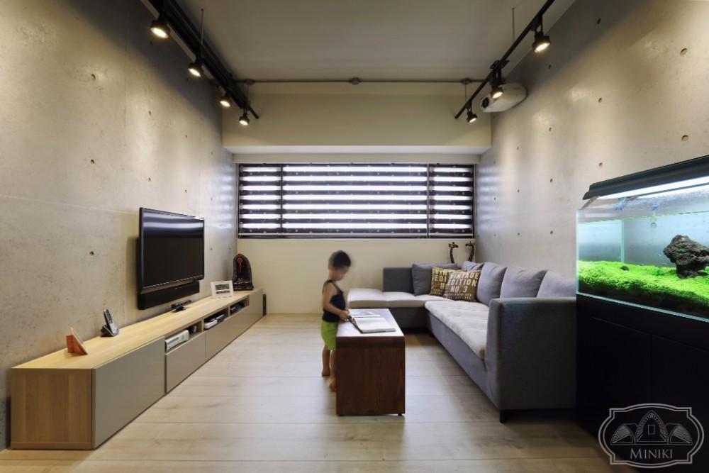 米立奇現代輕工業風住家 客廳