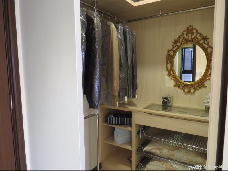 龐比度混搭風案例 更衣室