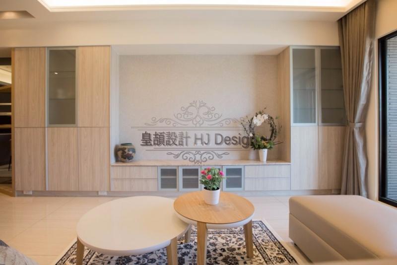 實現內心深處的理想住家-客廳收納│皇頡空間設計