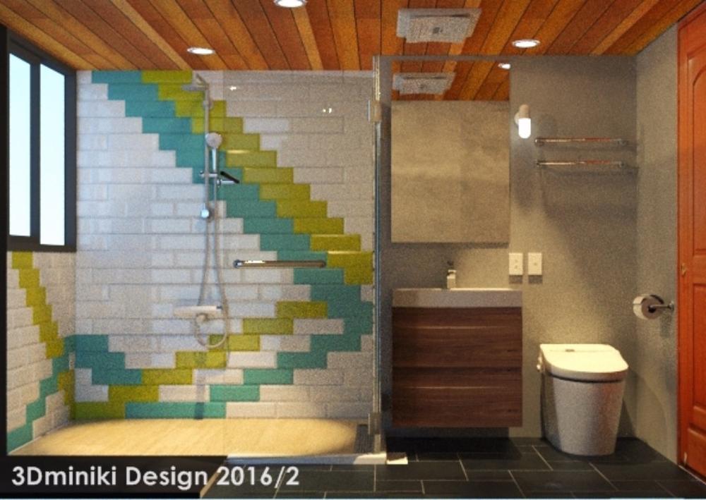 米立奇現代輕工業風住家 浴室