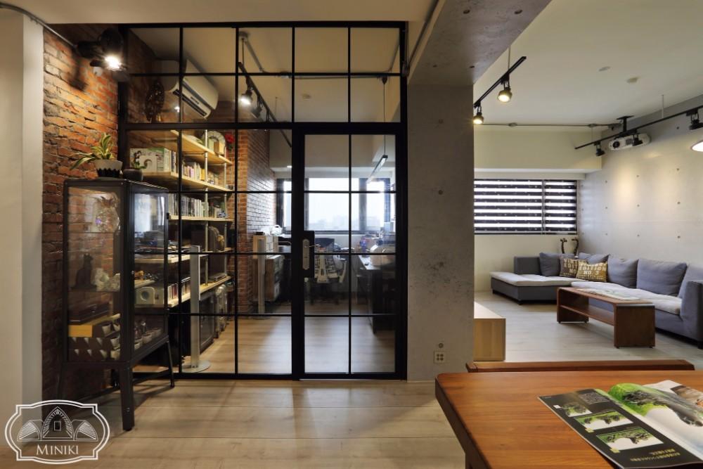 米立奇現代輕工業風住家 工作室