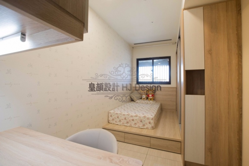 實現內心深處的理想住家-小坪數房間規劃│皇頡空間設計