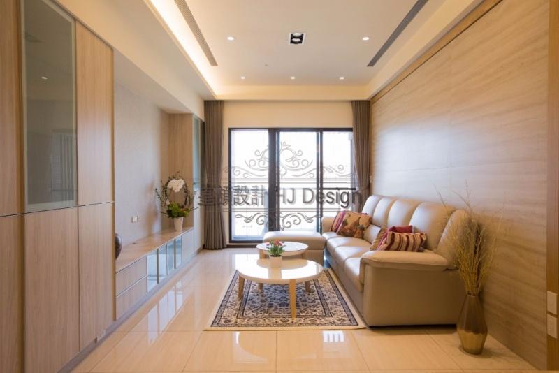 實現內心深處的理想住家-客廳│皇頡空間設計