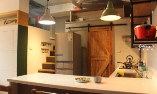 工業風率性住宅@LOFT @ 芸匠室內設計